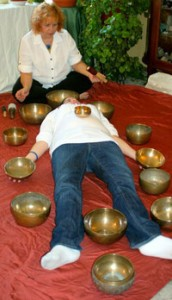 Tibetan Bowl healing session with Becky Cobb, Peoria, IL
