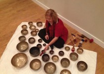 Becky Cobb Tibetan bowl meditation